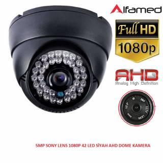 2MP 1080P 42 LED AHD SİYAH DOME KAMERA ALFA-1759