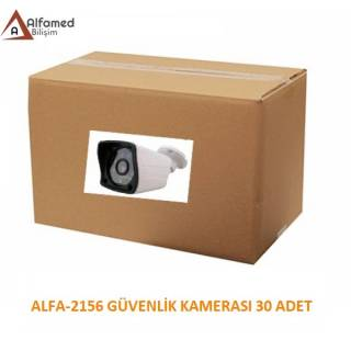 2MP 1080P AHD ALFA-9138 Güvenlik Kamerası 30 Adetlik Koli