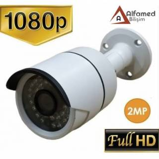 2MP 1080P 36 Led Ahd Metal Kasa Güvenlik Kamerası