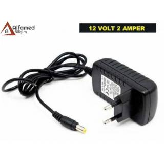 12V 2 AMPER PLASTİK SWİTCH ADAPTÖR