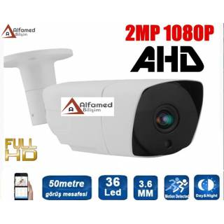 2 MP 1080P 36 LED 3.6 MM Lens AHD Güvenlik Kamerası