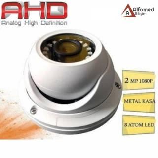2MP AHD 1080P Metal Kasa Gece Görüşlü Dome Kamera