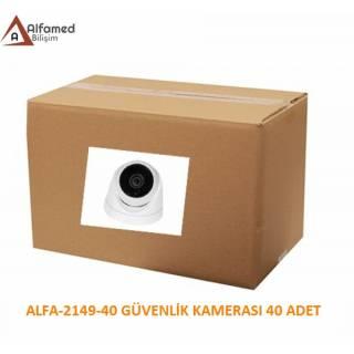 2MP 1080P Dome Güvenlik Kamerası ALFA-2149 40 Adetlik Koli
