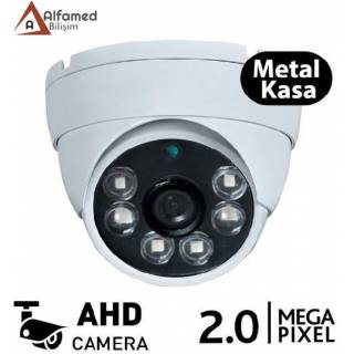 2MP Metal Kasa AHD ATOM LED Dome Güvenlik Kamerası