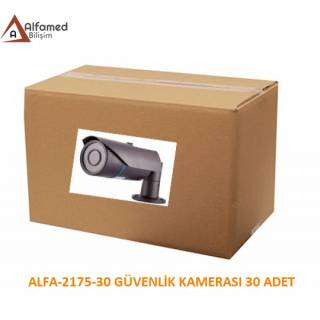2MP 1080P AHD ALFA-2175 Güvenlik Kamerası 30 Adetlik Koli