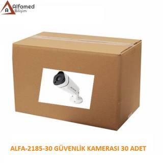 2MP 1080P ALFA-2185 AHD Güvenlik Kamerası 30 Adetlik Koli