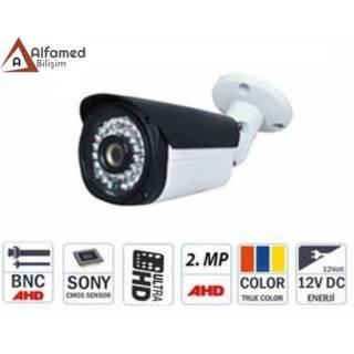 2 MP 1080P 48 LED AHD Güvenlik Kamerası