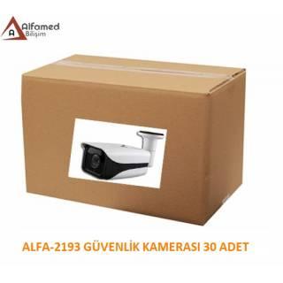 2MP 1080P AHD ALFA-2193 Güvenlik Kamerası 30 Adetlik Koli