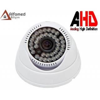 2 MP 36 IR LED 1080P AHD Dome Güvenlik Kamerası