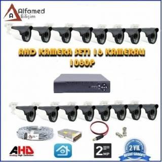 2MP AHD 16 Kameralı Güvenlik Sistemi