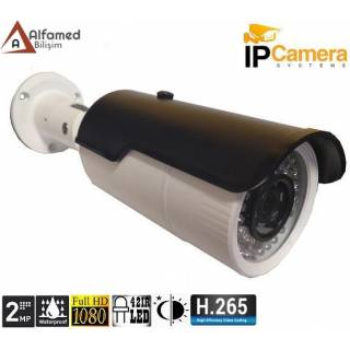 2 MP 1080P 42 LED 3.6 MM DIŞ MEKAN IP GÜVENLİK KAMERASI