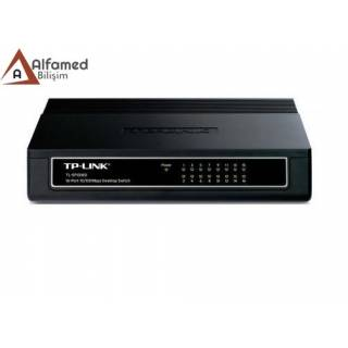TP-LİNK 16 Port 10/100 Mbps Desktop SwitchTL