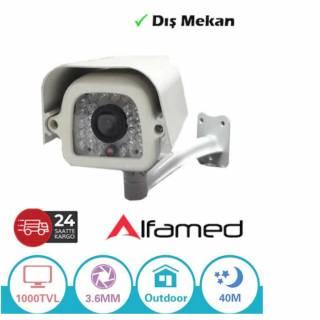 ALFAMED 1000TVL ANALOG DIŞ MEKAN GÜVENLİK KAMERASI AL-9042
