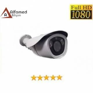 1080P 2 MP AHD 2 Atom Led Bullet Su Geçirmez Güvenlik Kamerası