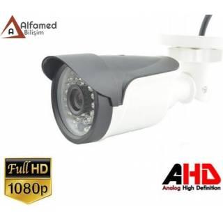 2MP 1080P AHD Gece Görüşlü Bullet Güvenlik Kamerası