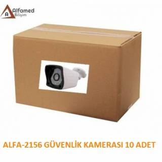 2MP 1080P AHD ALFA-9138 Güvenlik Kamerası 10 Adetlik Koli