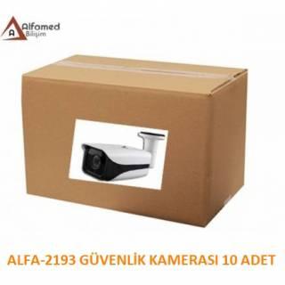 2MP 1080P AHD ALFA-2193 Güvenlik Kamerası 10 Adetlik Koli