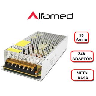 24 Volt 15 Amper Adaptör