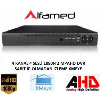 4 Kanal (XMEYE) AHD DVR Kayıt Cihazı