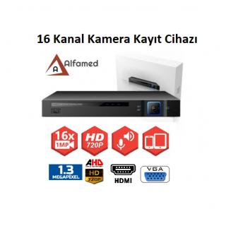 16 Kanal Analog AHDHDKamera Kayıt Cihazı ALFAMED