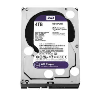 """WD Purple WD40PURZ 4 TB SATA 3 HDD 3.5"""" 7/24 Güvenlik Diski"""