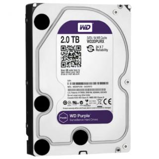 """WD Purple WD20PURX 3.5"""" 2 TB SATA 3 HDD Güvenlik Diski"""