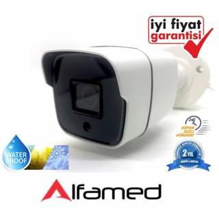 2 MP 20 Nano LED Dış Mekan 1080P AHD Bullet Kamera AL-1334 ALFAMED