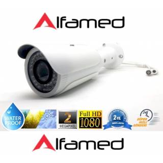 2MP 1080p AHD 42 Led Gece Görüşlü Güvenlik Kamerası ALFAMED AL-8143W