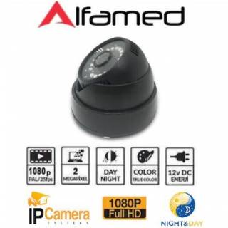 ALFAMED 2 MP 1080P IP DOME GÜVENLİK KAMERASI AL-1126