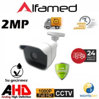 2MP 1080P 36 Led Şık Plastik Kasa AHD Güvenlik Kamerası AL-2235