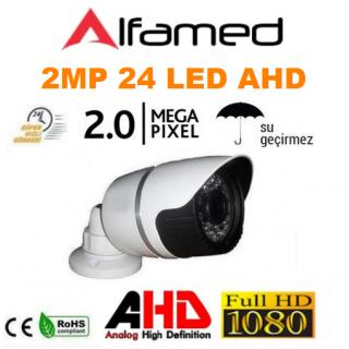 2MP 1080P AHD  24 Led Metal Kasa Bullet Kamera AL-1232