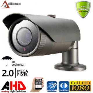1080P 2MP 42 LED Gece Görüşlü AHD Güvenlik Kamerası