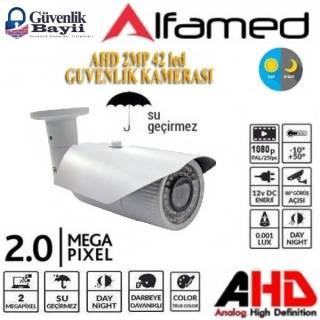 Metal Kasa 2MP 42 Led 3.6mm AHD Kamera