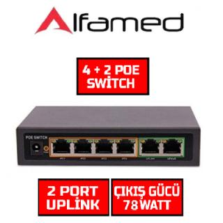 4 Port PoE Switch 10/100