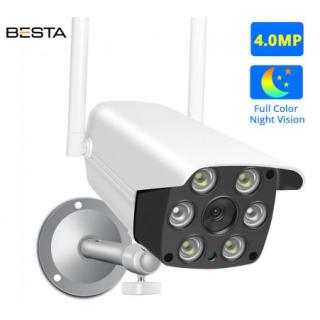 2 MP Çift Antenli Wi-Fi Dış Mekan Güvenlik Kamerası BB-1702